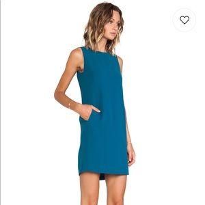 Vince sleeveless shift dress